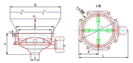 料斗结构平面设计图